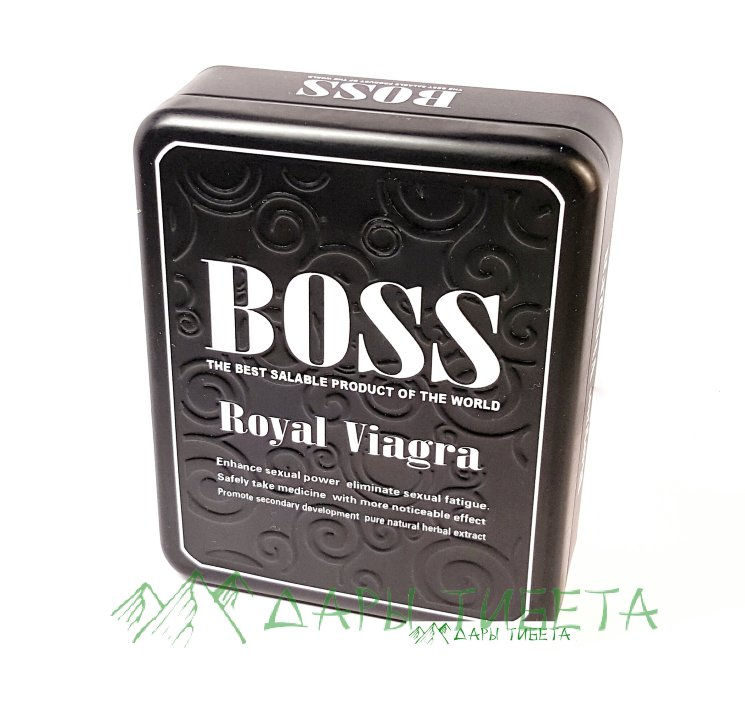Таблетки Boss Royal Viagra